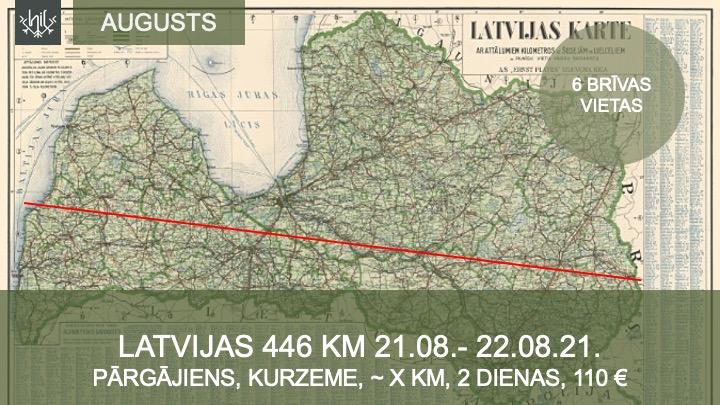 Pārgājiens pāri Latvijai